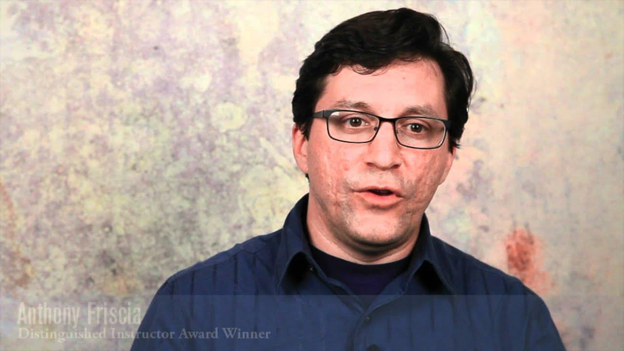 Anatomy And Physiology Instructor Anthony Friscia Youtube