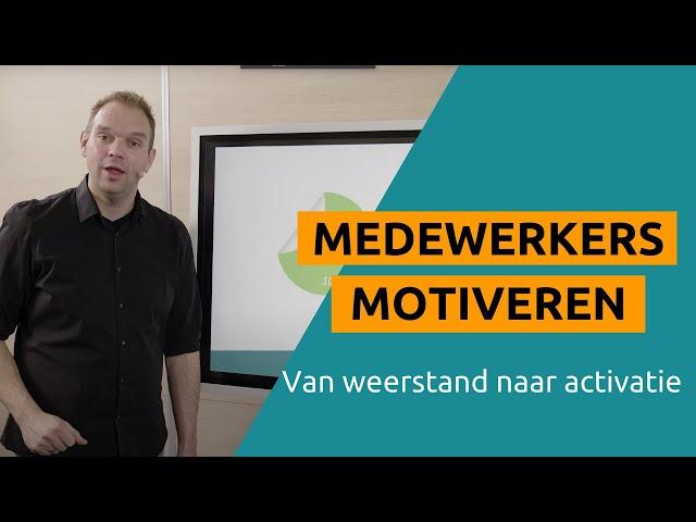 Medewerkers Motiveren (zo doe je dat)