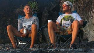 «Тёплый ветер». Фильм о путешествии на необитаемый остров | Desert Island Camping