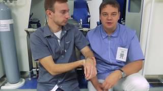 видео Как правильно оказывать первую помощь при переломах