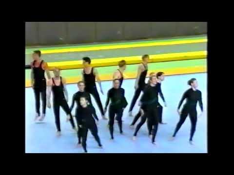 Truppgymnastik NM 1997 i Stockholm