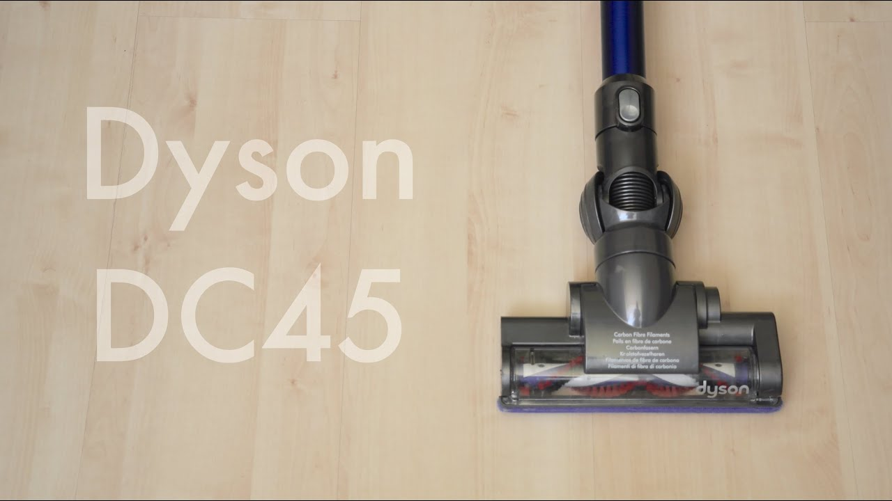 dyson dc45 review best cordless vac 2015 youtube. Black Bedroom Furniture Sets. Home Design Ideas