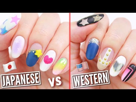 Japanese VS American Nail Art!