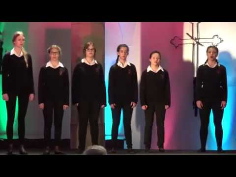 SKOWRONKI GIRLS' CHOIR / Hymn to the Virgin by Michael McGlynn