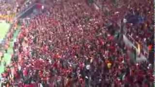 İnanılmaz Galatasaray Taraftarları - Fantastic Galatasaray Fans - Galatasaray Tribün Şovları