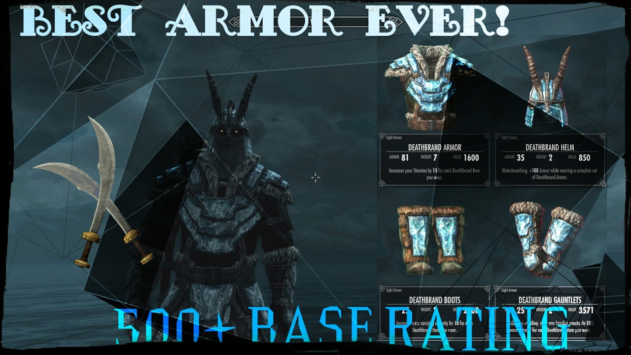 how to get deathbrand armor