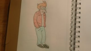340 - How to Draw Fry from Futurama