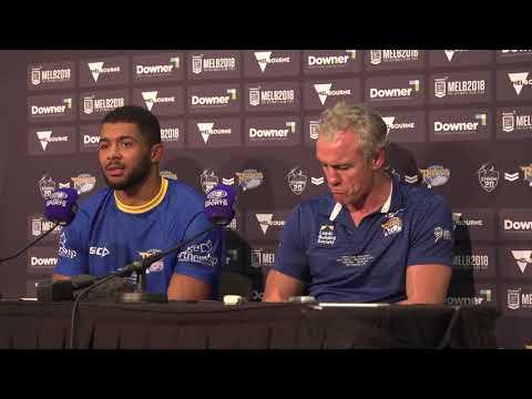 Leeds Rhinos post-match press conference