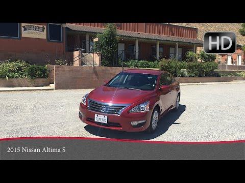 2015 Nissan Altima S Test Drive/ обзор Ниссан Алтима