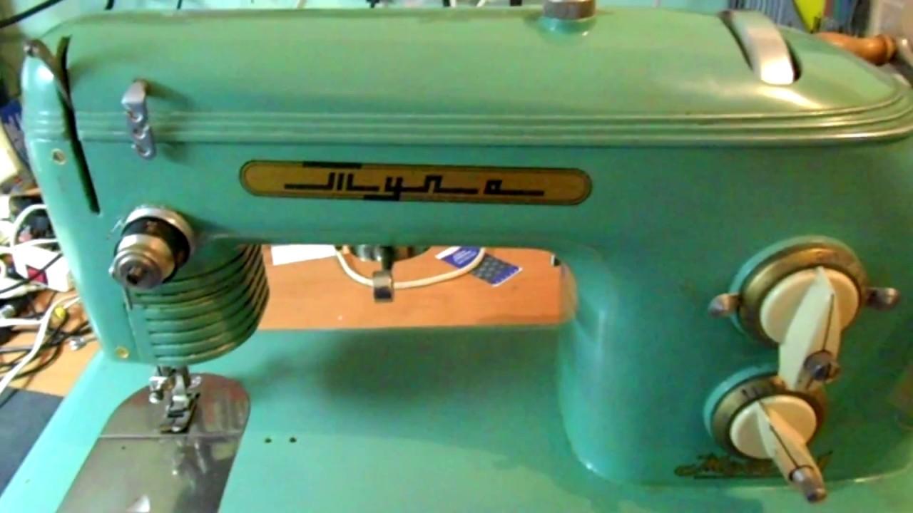 Как настроить швейную машину видео 1, выставляем челнок и иглу .