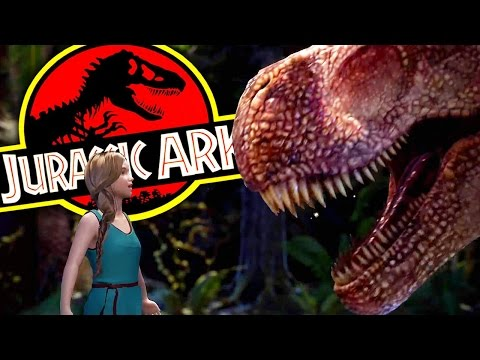 Ark Park - INSANE JURASSIC PARK VIRTUAL REALITY - Ark Survival Evolved (Ark Park Preview)
