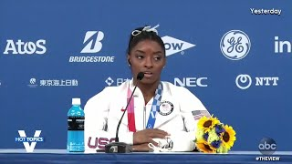 Simone Biles Withdraws From All-Around Final | The View