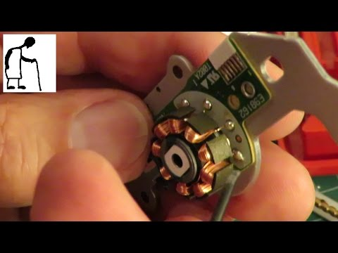 Old DVD drive motors revisited