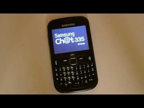 réinitialisation Samsung Chat 335