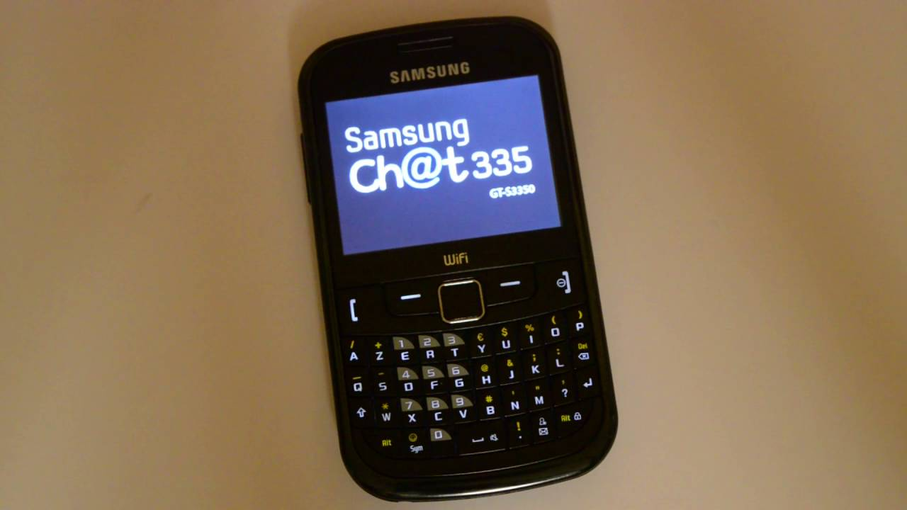 Samsung Chat - Price Full Specifications & Features at Gadgets Now