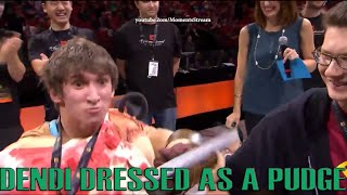 dendi dressed as a pudge all stars match ti5