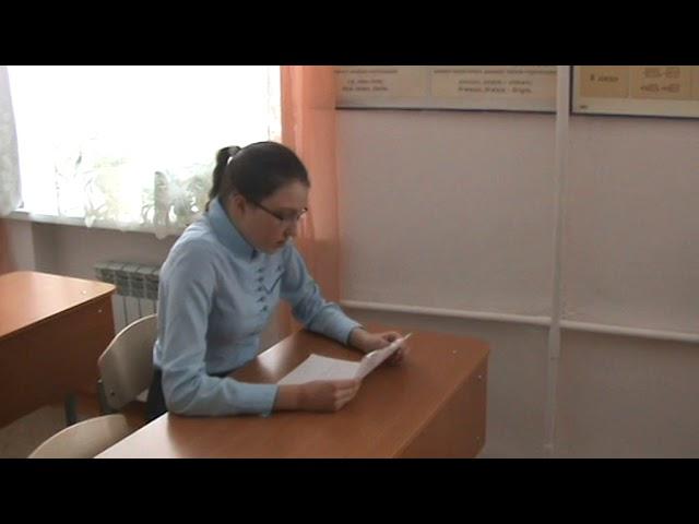 Изображение предпросмотра прочтения – СофияИгуменщева читает авторское произведение «Пословицы»