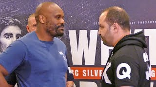 OPPONENT REVEALED Dereck Chisora vs  Zakaria Azzouzi WEIGH IN & FACE TO FACE