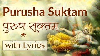 Complete Purusha Suktam with Lyrics | Vedic Chanting by 21 Brahmins