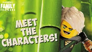 the LEGO Ninjago Movie posters show off individual ninja awesome-ness