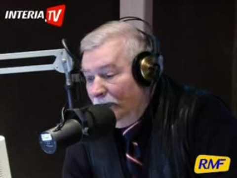 2008r: Wałęsa denerwuje się i kluczy na pytania o kpt.Graczyka. #Bolek