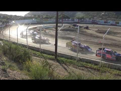 Barona Speedway IMCA Modified Heat #1  5-4-2019