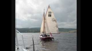 A Cape Cutter 19 and a Pippin 20 have a quiet day on Kielder Water (Slide Show).wmv