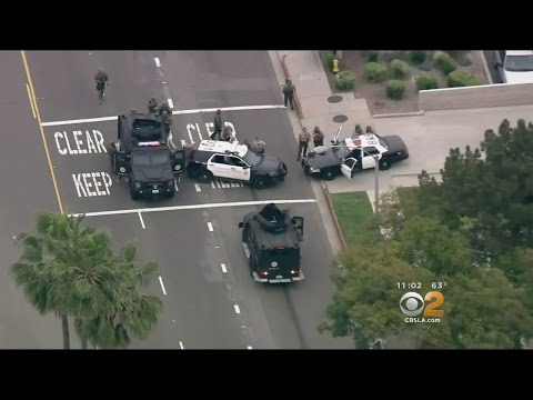 Gunman Shoots At Deputies, Kills Self Outside Temple City Sheriff's Station