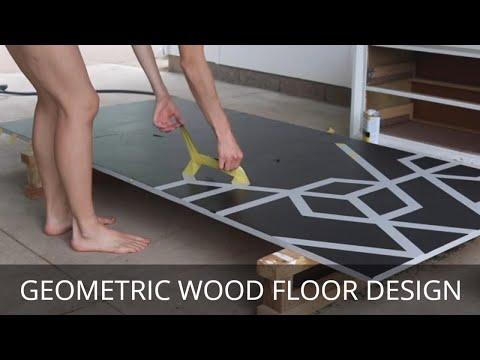 painting-a-geometric-floor-design-(fast)-|-diy-geometric-modern-design-on-wood-porch
