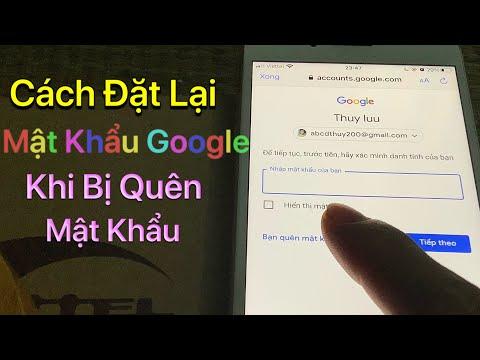 cách hack mật khẩu gmail khi biết tài khoản - Cách Đặt Lại Mật Khẩu Tài Khoản Google Khi Bị Quên Mật Khẩu