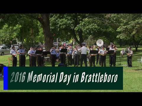 2016 Memorial Day in Brattleboro
