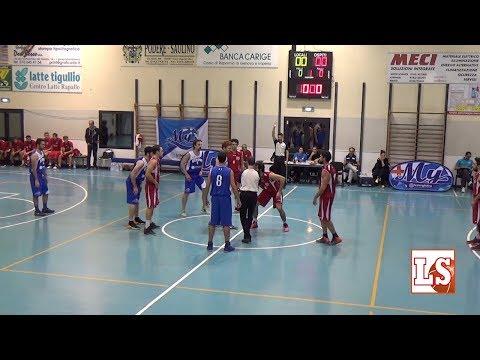 Highlights Di MY Basket Vs Villaggio (Serie D 2017/18)