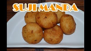 Suji Manda Pitha || Stuffed Semolina Fried Cake || Odia Authentic Recipe