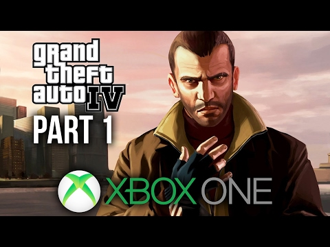 GTA 4 Xbox One Gameplay Walkthrough Part 1 - LIBERTY CITY