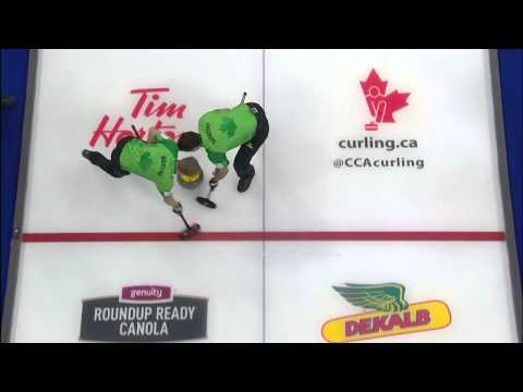 Jim Cotter - Tim Hortons Roar of the Rings - Draw to the Button