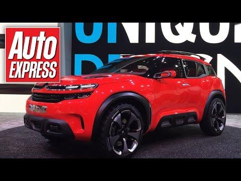 Striking Citroen Aircross concept car revealed in Shanghai