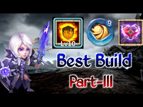 Rosaleen | Best Build - III | 10/10 Flame Guard | 9 Sacred | Malaise | Castle  Clash