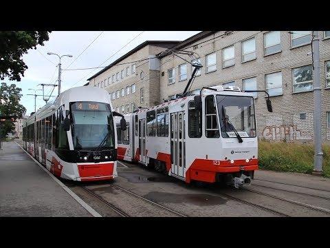 Tatra KT6TM #123 on it's test run
