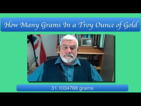 How Many Grams In Troy Ounce Of Gold