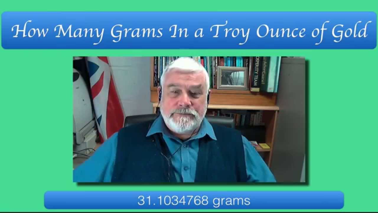 How Many Grams In A Troy Ounce Of Gold