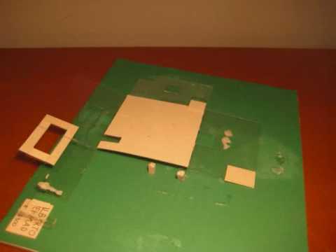Como hacer una maqueta la manera mas f cil y r pida - Como hacer una maqueta de una casa ...