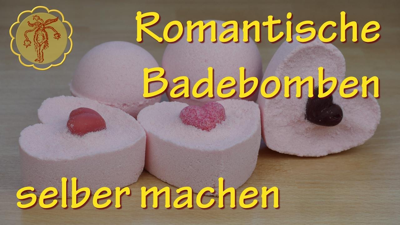romantische badebomben selber machen youtube. Black Bedroom Furniture Sets. Home Design Ideas