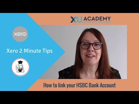 How to link your HSBC bank account to Xero