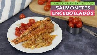 Salmonetes encebollados | Salmonete con cebolla caramelizada | El mejor salmonete