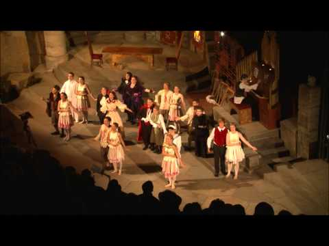 Act 2 Finale - Ruddigore at the Minack Theatre 2012