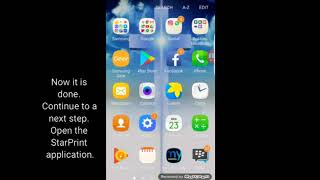 How to print Microsoft Word document from smartphone