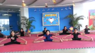 Yoga Presentation by Children of MRIS 51