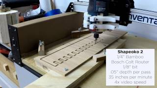 Cutting A Box Joint Jig Template With A Cnc (non Instructional)