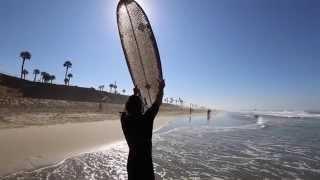 Cardboard Surfboard Ernest