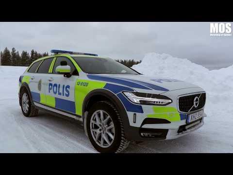 Polisen om nya V90 CC